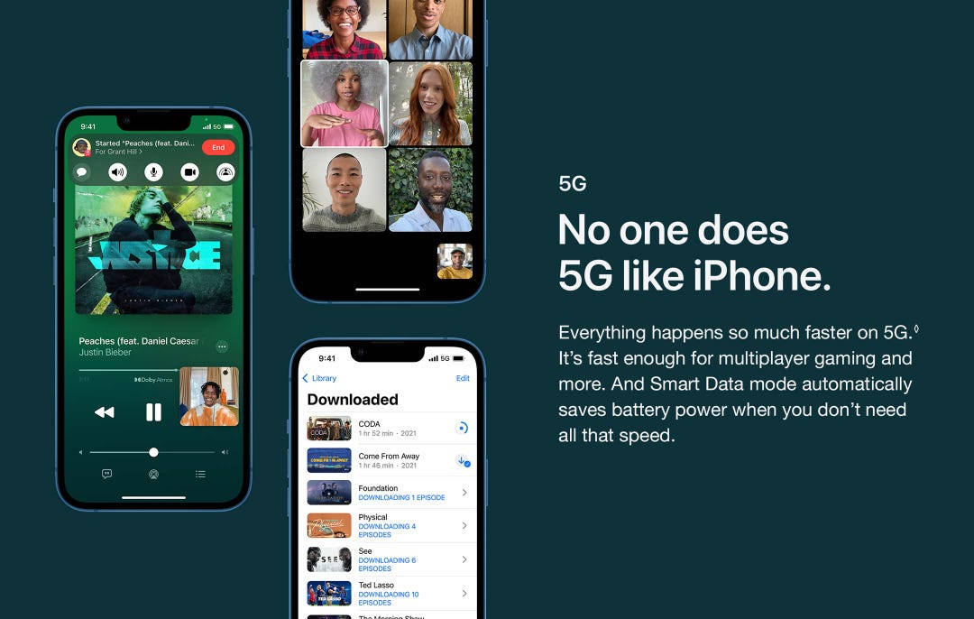 Everything happens so much faster on 5G. It's fast enough for multiplayer gaming and more.