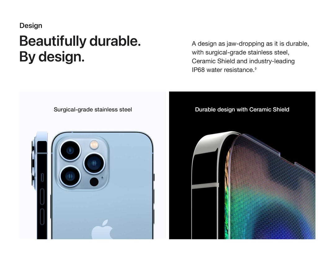 Beautifully durable. By design.