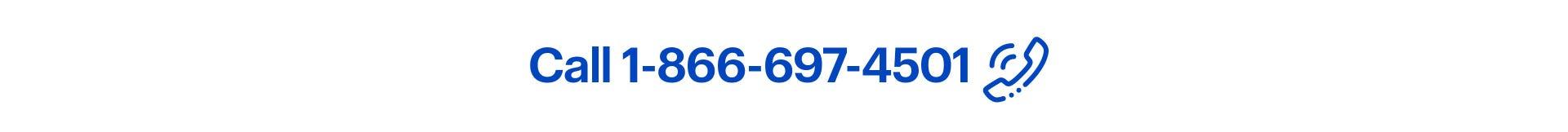 Call 1-866-697-4501