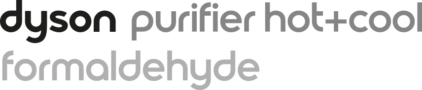 Dyson purifier hot and cool formaldehyde
