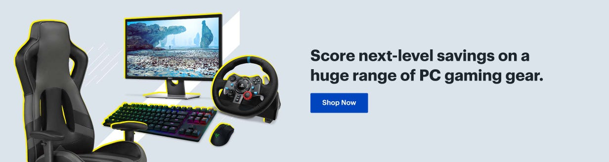 Score next-level savings on a huge range of PC gaming gear. Shop now.