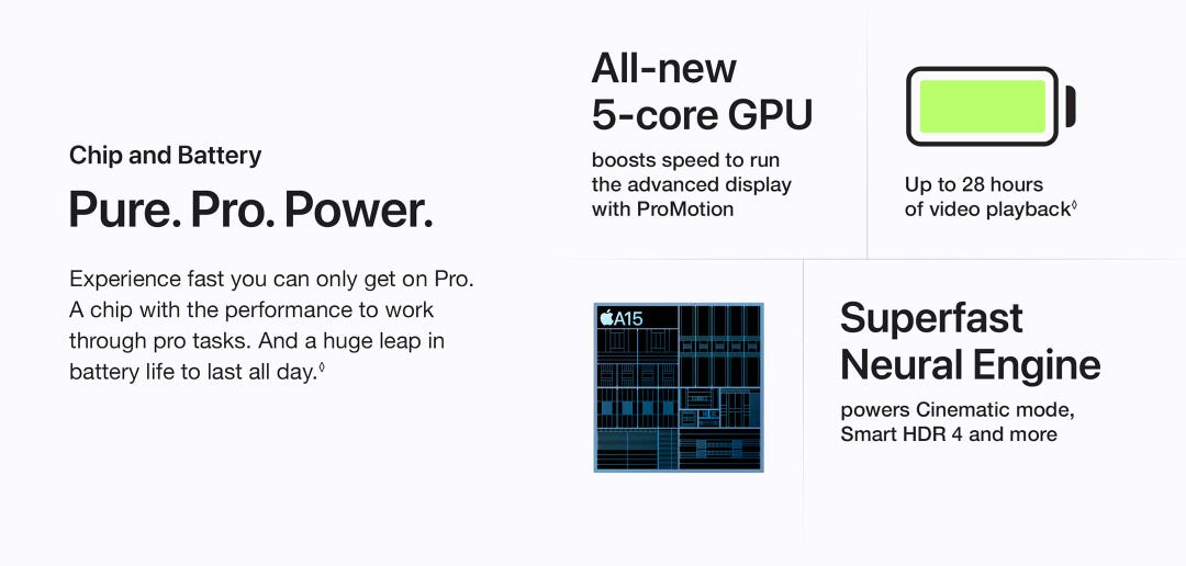 Pure. Pro. Power.  Experience fast you can only get on Pro.