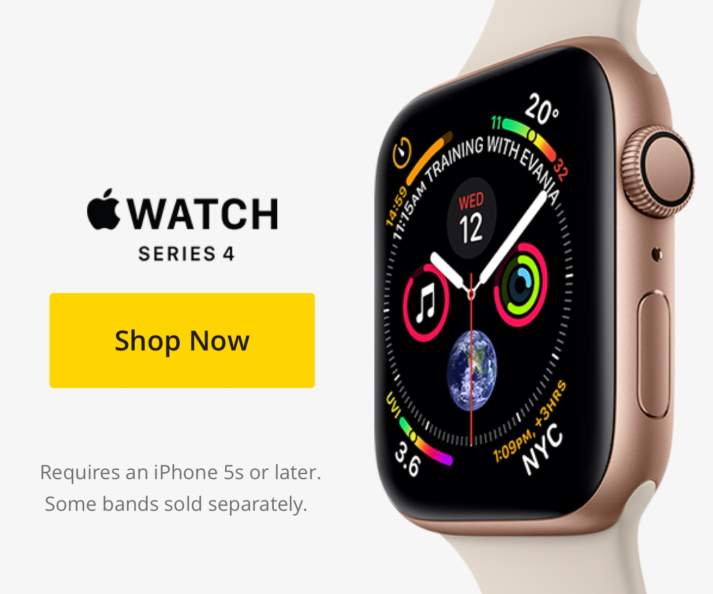 Apple Watch Series 4 3 2 Best Buy Canada 42mm Gold Aluminium With Midnight Blue Sport Band