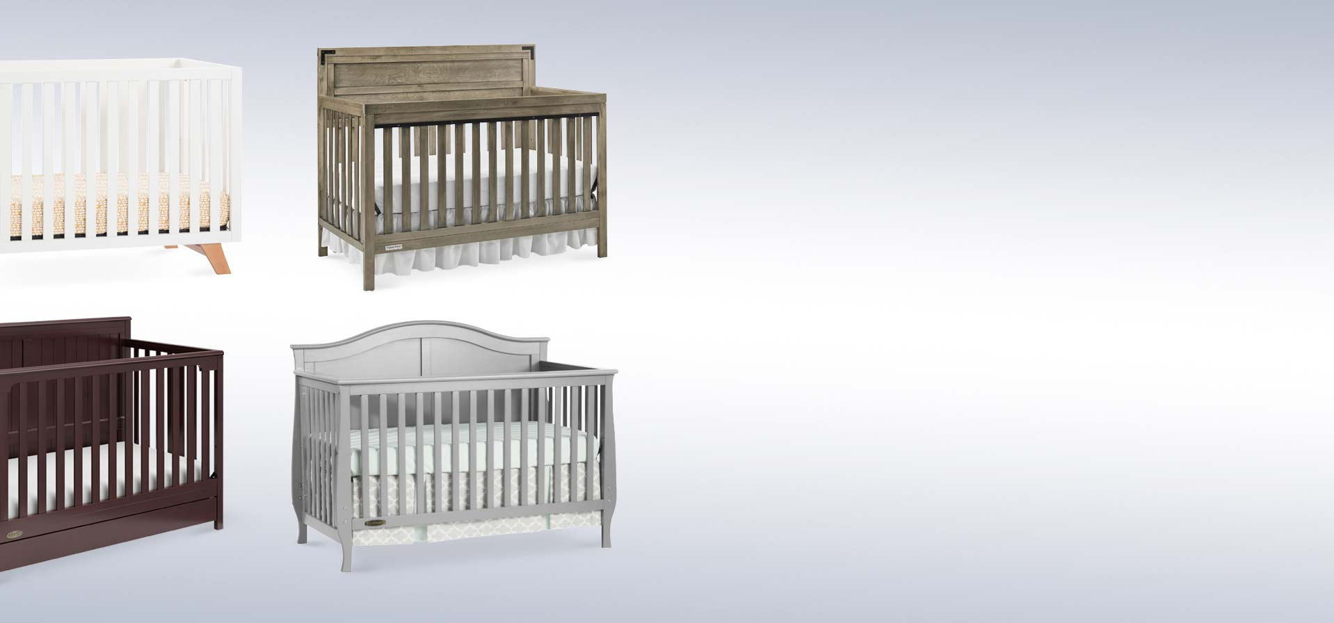 Baby Cribs Convertible Cribs White 4 In 1 More Best Buy Canada