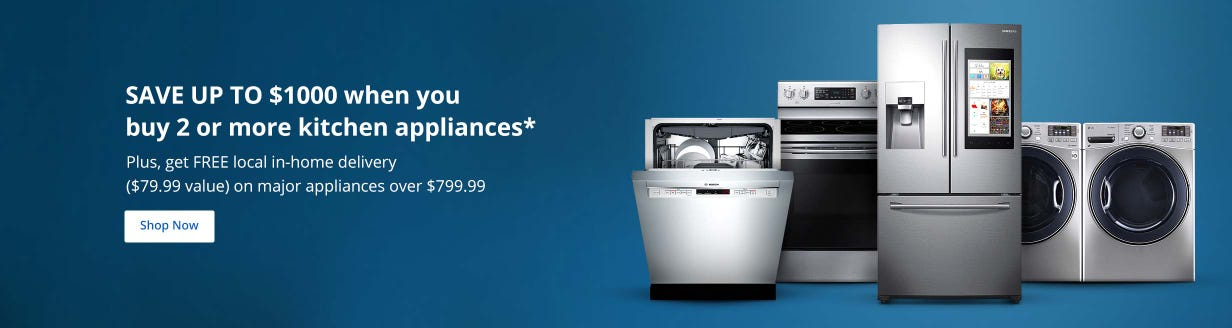 Score hot savings on select kitchen appliances