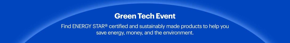 Green Tech Event Orientation