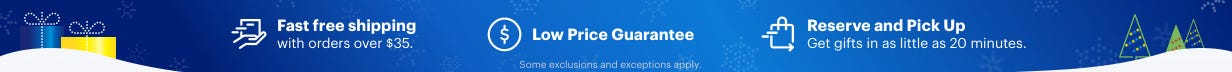 Fast, free shipping with orders over $35 - Low price guarantee - Reserve and Pick Up